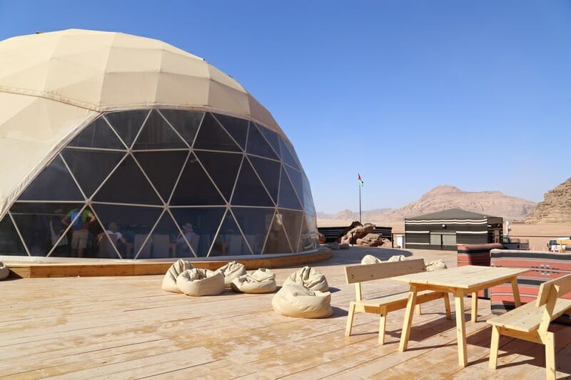 Dining-tent-at-Sun-City-Camp-in-Wadi-Rum-Jordan